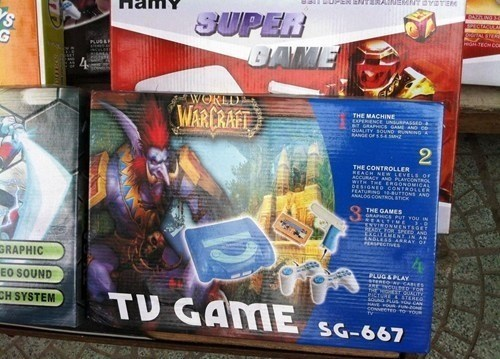 knockoff - Fictional character - MNT PETERe da1 BUPEN ENdTERAI SUPER BAME HTECN CO WORLD WARERAFT THE MACHINE gUALITY SOUND RNNG SMHZ 2 THE CONTROLE REACH NER LENESs aF AND ANALOO CO THE GAMES ONMENTSGEm ND EXCATETN GRAPHIC PLUG&PLAY SeREO CARLES EO SOUND THT TV GAME CH SYSTEM eereo o SG-667