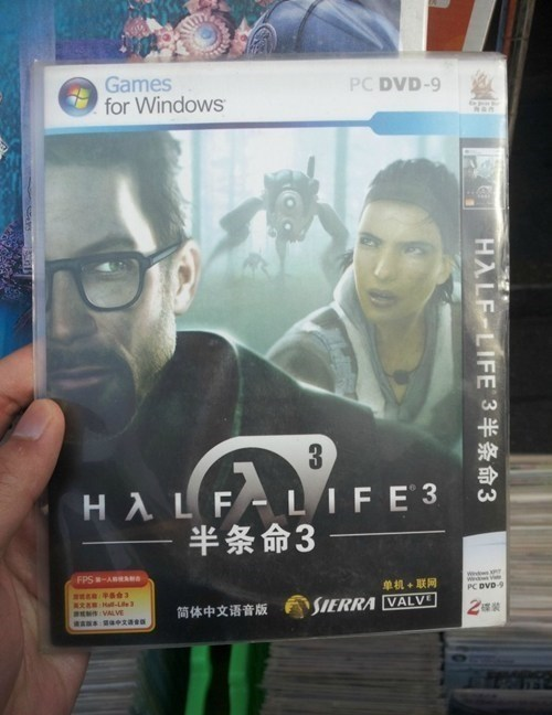 knockoff - Text - Games for Windows PC DVD-9 3 HA LFLIFE 3 半条命3 FPS-ARSA wind 单机+联网 PC DVD9 a Hal-Le E VALVE SIERRA VALV 简体中文语音版 HALF LIFE 3 3