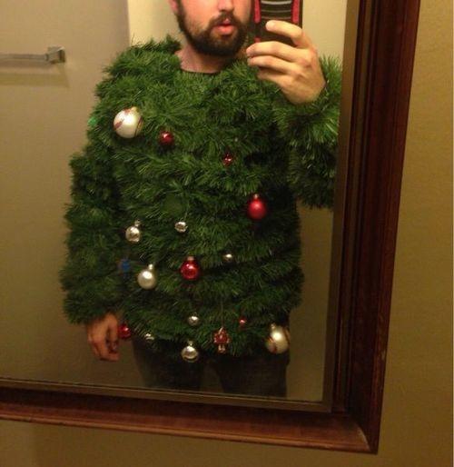 fashion christmas tree sweater - 7962136832