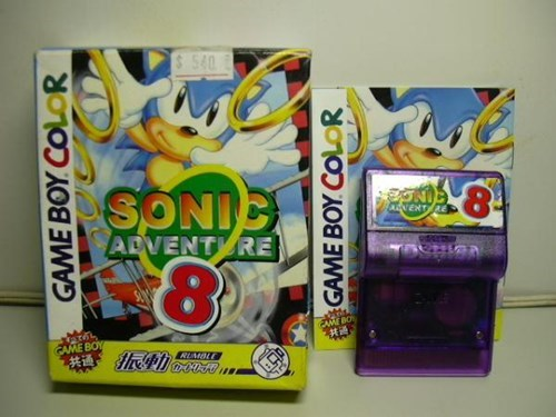 knockoff - Technology - $ 540 MC 18 SONIC ADVENT RE ANENT RE 8 EMEBO CAME BOY RUMBLE GAME BOY COLOR GAME BOY COLOR