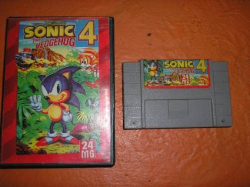 knockoff - Electronic device - SONIC A HEDGEHOG SONIC 4 GEIO 24 MO 24 MG