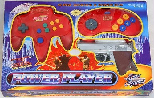 knockoff - Home game console accessory - FOR AGEAND u XA-70-1 N000 gUPER 1OY PowaR PLAYER WitW AOLIrnoN POWER PLAYER