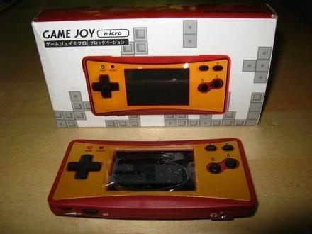 knockoff - Game boy console - GAME JOYicro 『ームジョイミクロプロックバージョン