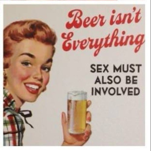 beer ads old timey sexy times funny - 7962197760