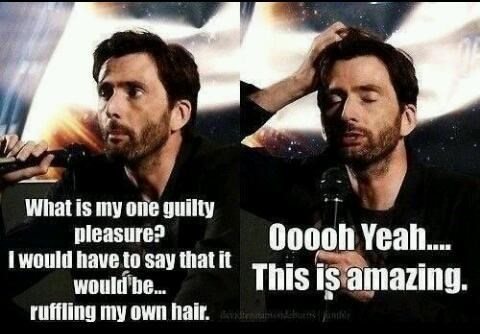 10th doctor celeb David Tennant hair