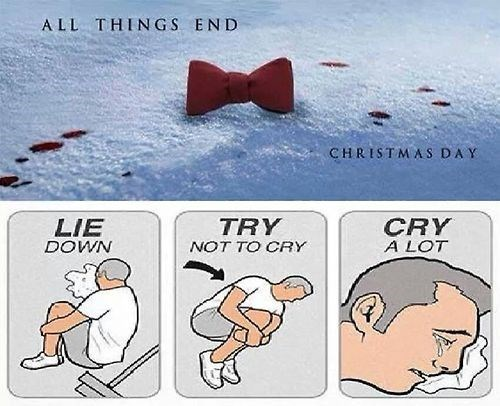 11th Doctor christmas special doctor who try not to cry - 7962278656
