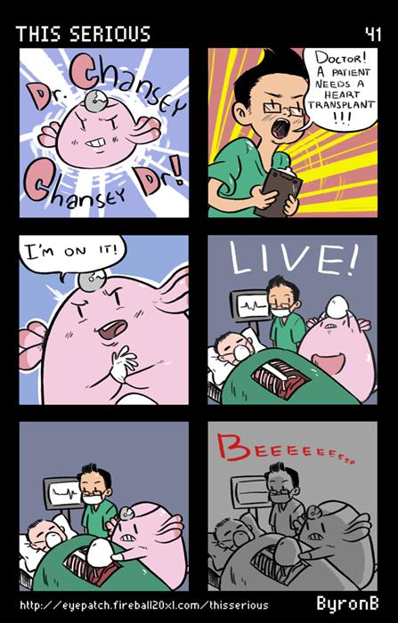 chansey Pokémon web comics - 7962323456