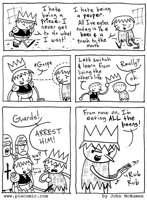 prince,web comics,pauper