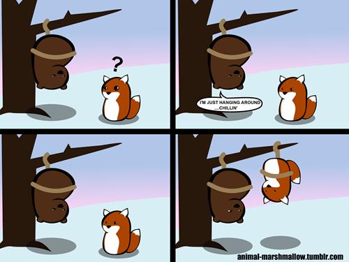 critters hanging puns web comics - 7962808320