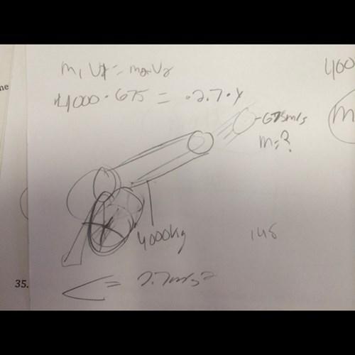 drawing cannon physics funny no no tubes wtf - 7963139072