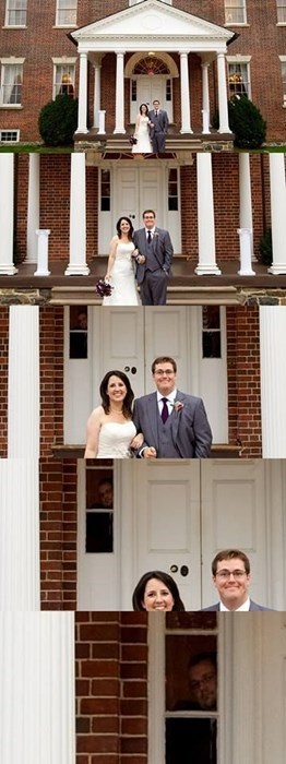 photobomb weddings - 7963367936