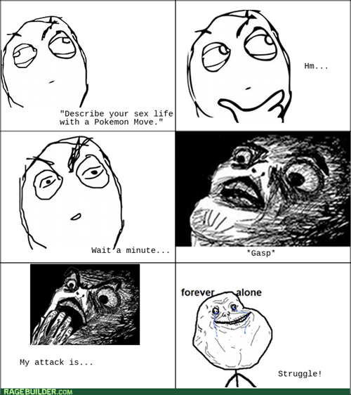 The horrible realization you're forever alone.
