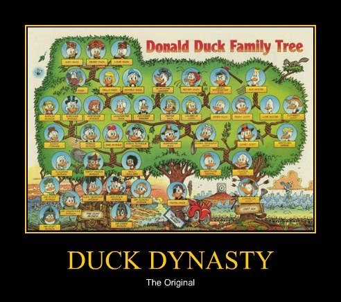 Family Tree donald duck duck dynasty - 7963515392