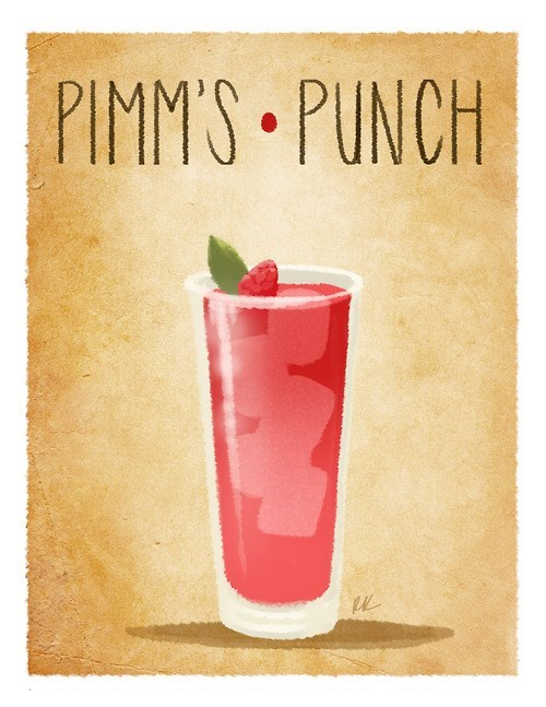 drink punch funny pimm's cup - 7963567104