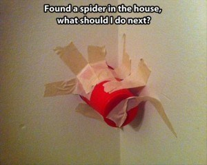 spiders masking tape red solo cups there I fixed it g rated - 7963577088