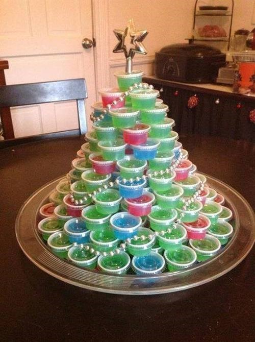 christmas christmas tree jello shots funny after 12 g rated