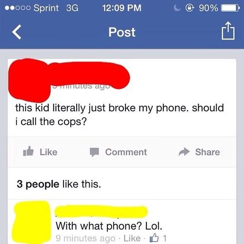 cops,phones