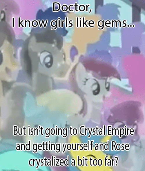 crystal empire rose doctor whooves MLP