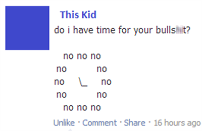 BS,this kid,failbook
