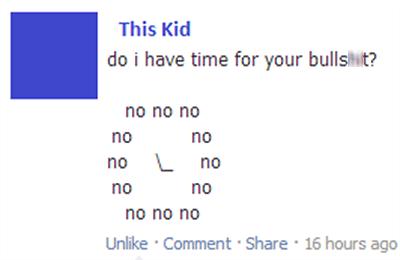 BS,this kid,failbook
