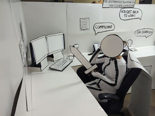 comics office pranks cubicle pranks - 7963683840