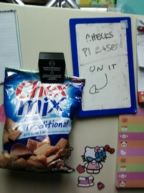chex mix check please - 7963685888
