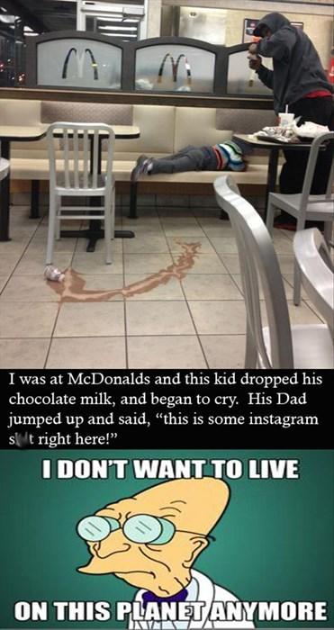 FAIL kids Memes instagram McDonald's parenting - 7963694848