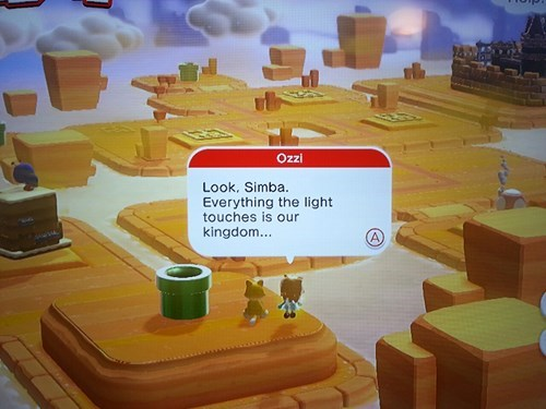 lion king Miiverse super mario 3d world - 7963742720