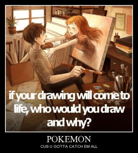 Pokémon life drawing funny - 7963773952