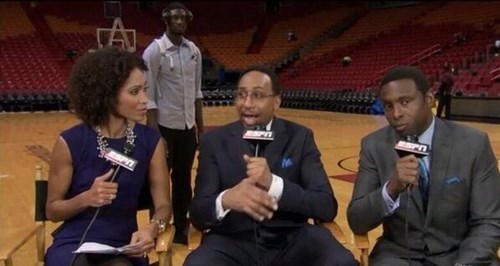 photobomb,espn,basketball