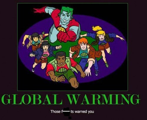 global warming captain planet funny - 7963795456