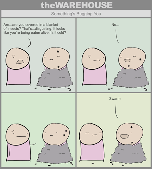 bugs puns web comics - 7963810304