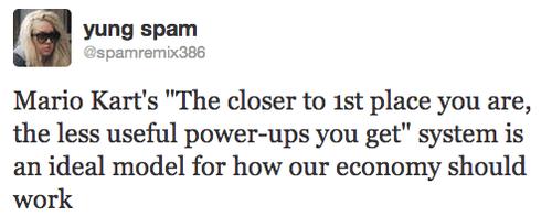 economy Mario Kart tweets twitter - 7963878912