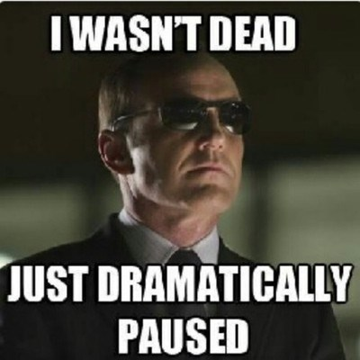 agent coulson mostly dead agents of shield - 7963885312