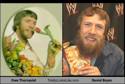 daniel bryan,totally looks like,owe thornqvist