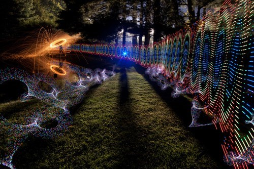 photography,time lapse,light painting