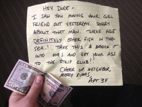 breakup ouch random act of kindness strip club - 7963998976