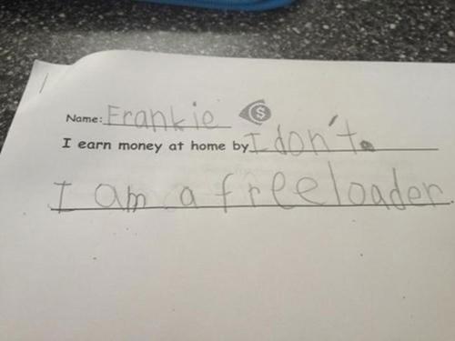 Text - Erankio Name: I earn money at home by freelandar LOh a