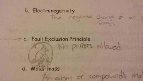 Text - b. Electronegativity The nesative dharge of Cun c. Pauli Exclusion Princip aucd No paiors d. Moiur mass Am atom or compounds mol