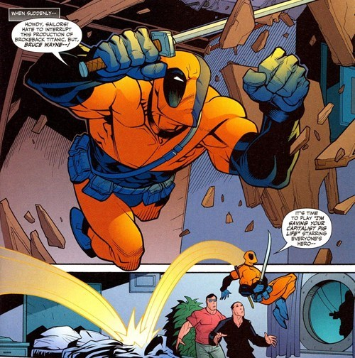 deathstroke deadpool like off the page - 7964575488