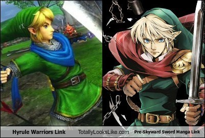 link totally looks like hyrule warriors - 7964886528