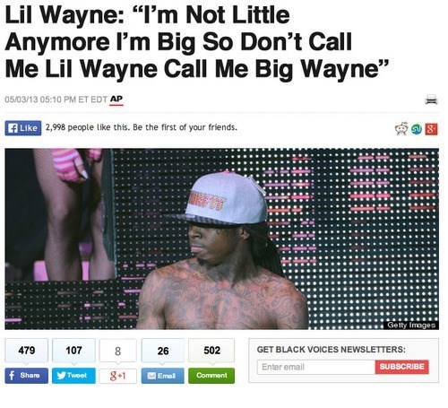 lil wayne,don't like that,big wayne