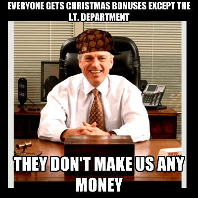 christmas scumbag boss holiday bonuses monday thru friday - 7965379328