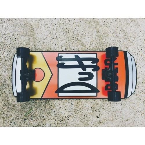 beer duff skateboard funny - 7965430272