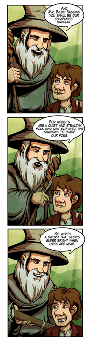 Fan Art The Hobbit web comics - 7965568256