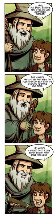 Fan Art The Hobbit web comics - 7965568256