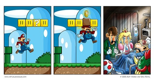 nintendo mario video games web comics - 7965584128