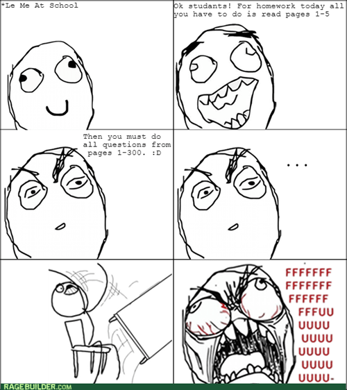 homework rage table flipping - 7965618432