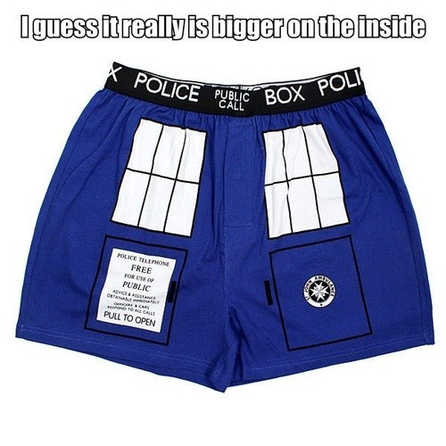 boxers,doctor who,that sounds naughty