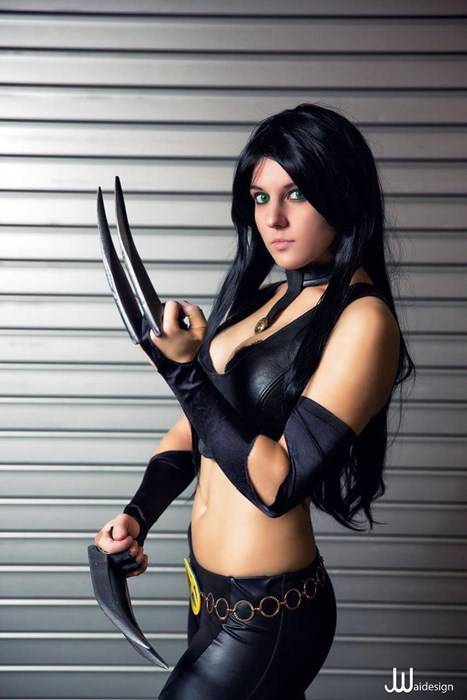 cosplay superheroes x men weapon x - 7965704704